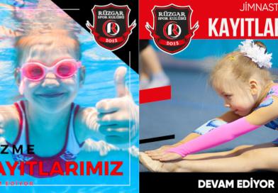 Rüzgar Spor Jimnastik ve Yüzme'ye Bu Hafta Sonu Start Veriyor.